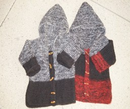 kids hand knit jackets[654]